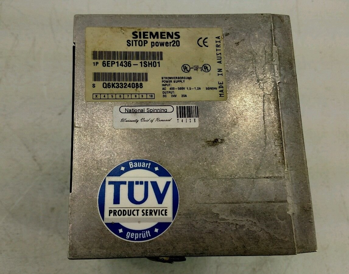 Siemens 6ep1436 1sh01 Sitop Power 20 T14733 Mechanical Component As Shown Below A P Channel Mosfet Irf4905 Is Used And It Equipment Cases Industrial Scientific