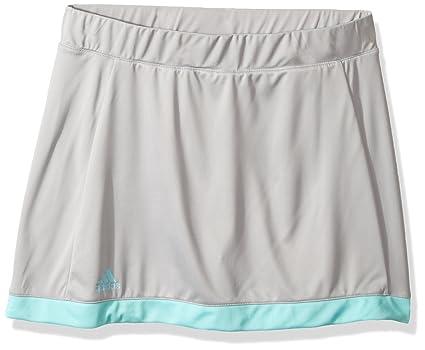 f02daae79c Buy adidas Girls Tennis Court Skort, Grey Two/Energy Aqua, Small ...