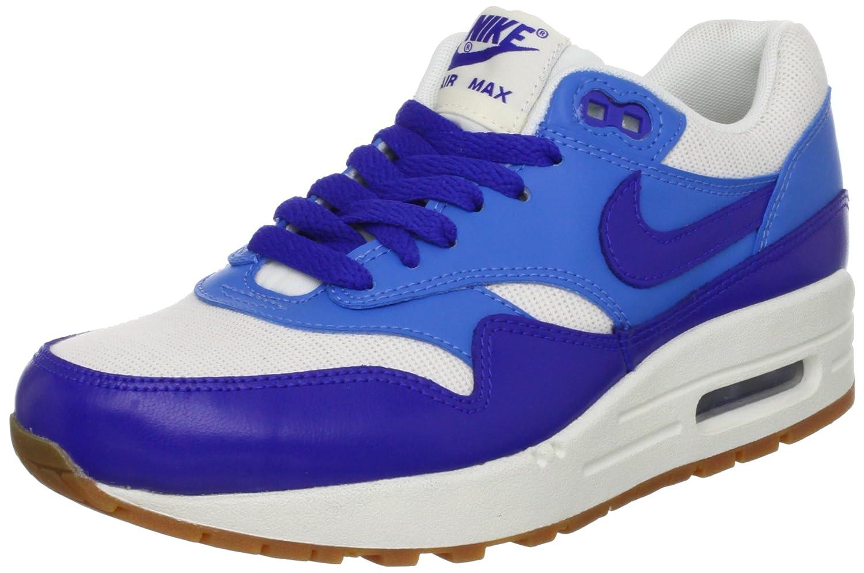 Nike Damen Air Max 1 Vintage Turnschuhe Blau Weiß