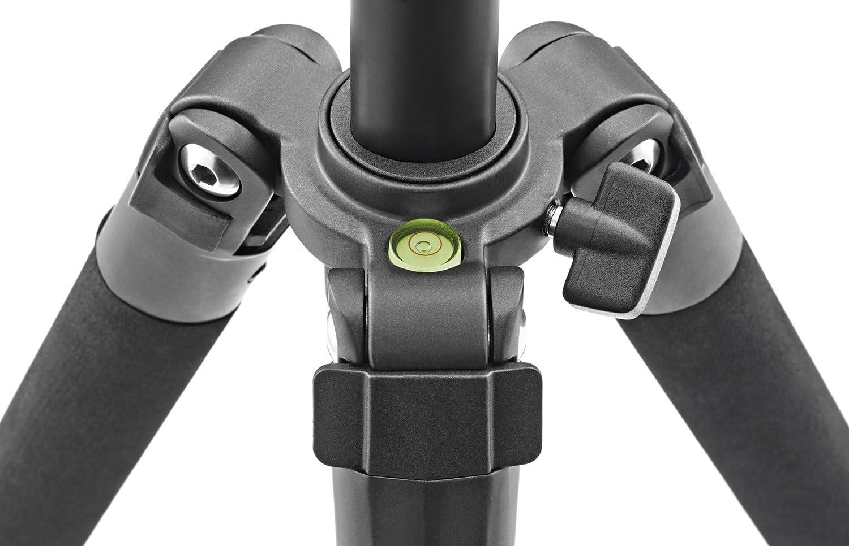 Cullmann CU 52461 Nanomax 460 with Metal 3 Way QR Head Variable Angle Legs Case Black