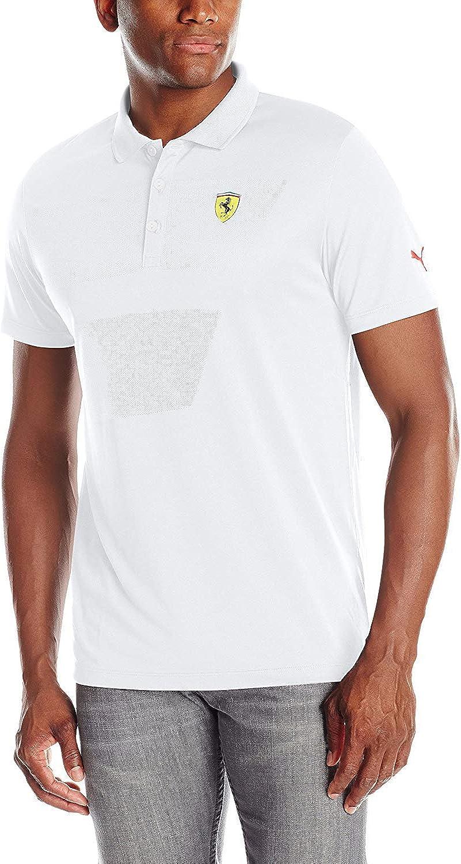PUMA Ferrari Hombres de pequeño Escudo Polo, Hombre, Camiseta ...
