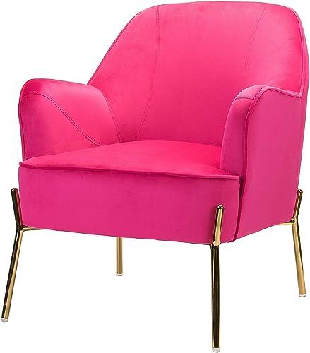 Nora Velvet Accent Chair
