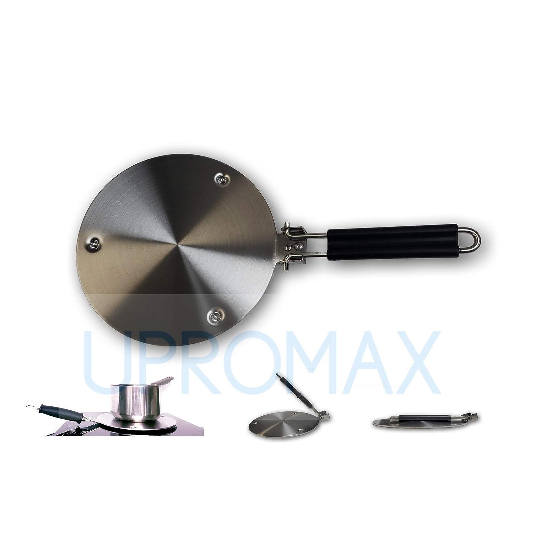upromax en relieve placa de inducción acero inoxidable ...
