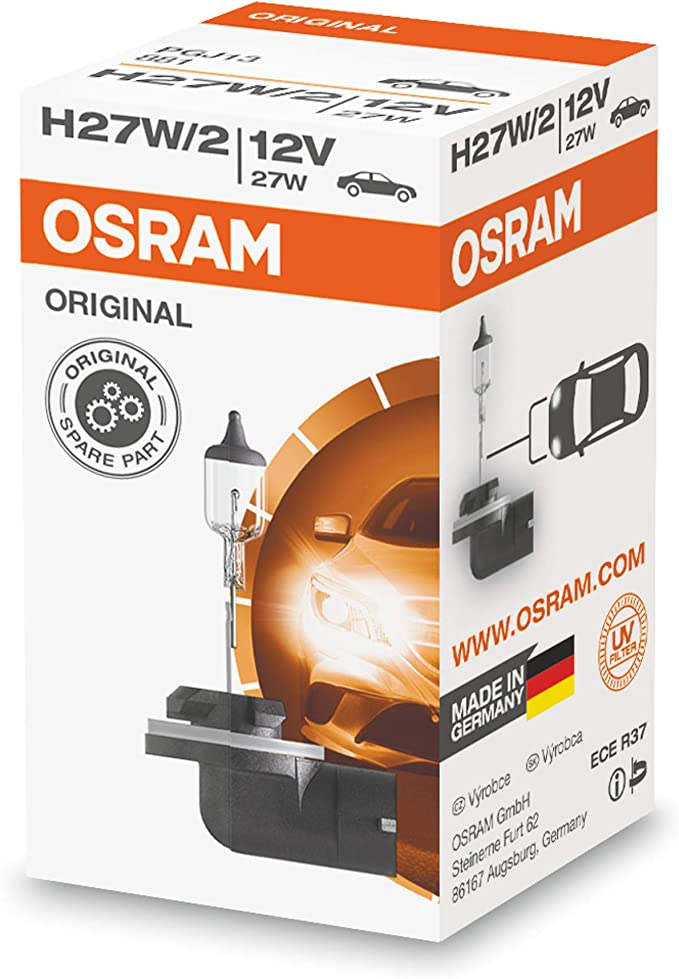 Osram 881 Lampe H27 2 12v 27w Pgj13 1 Stück Im Karton Auto