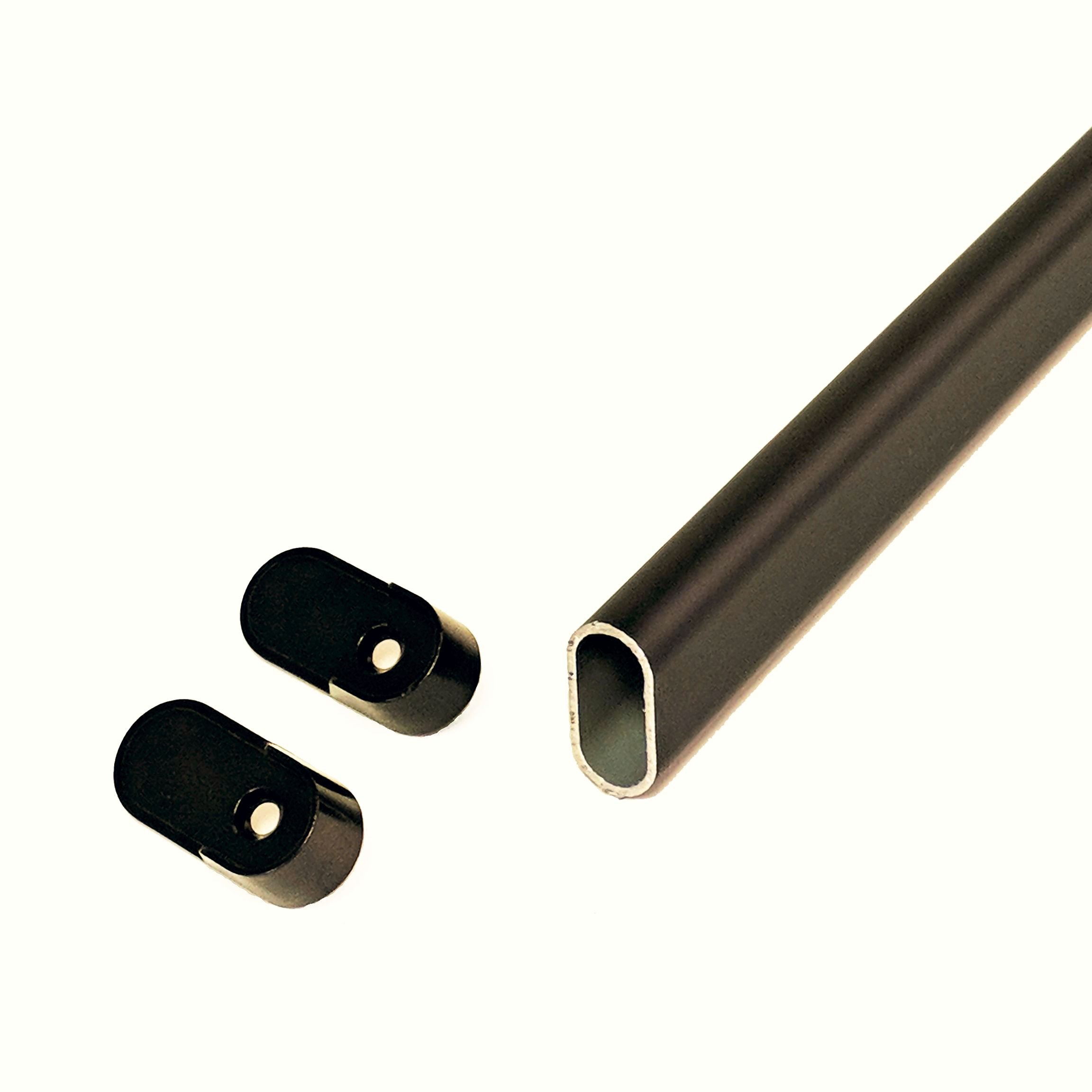 CLOSETbay Oval Closet Rod Kit, Oil Rubbed Bronze (36)