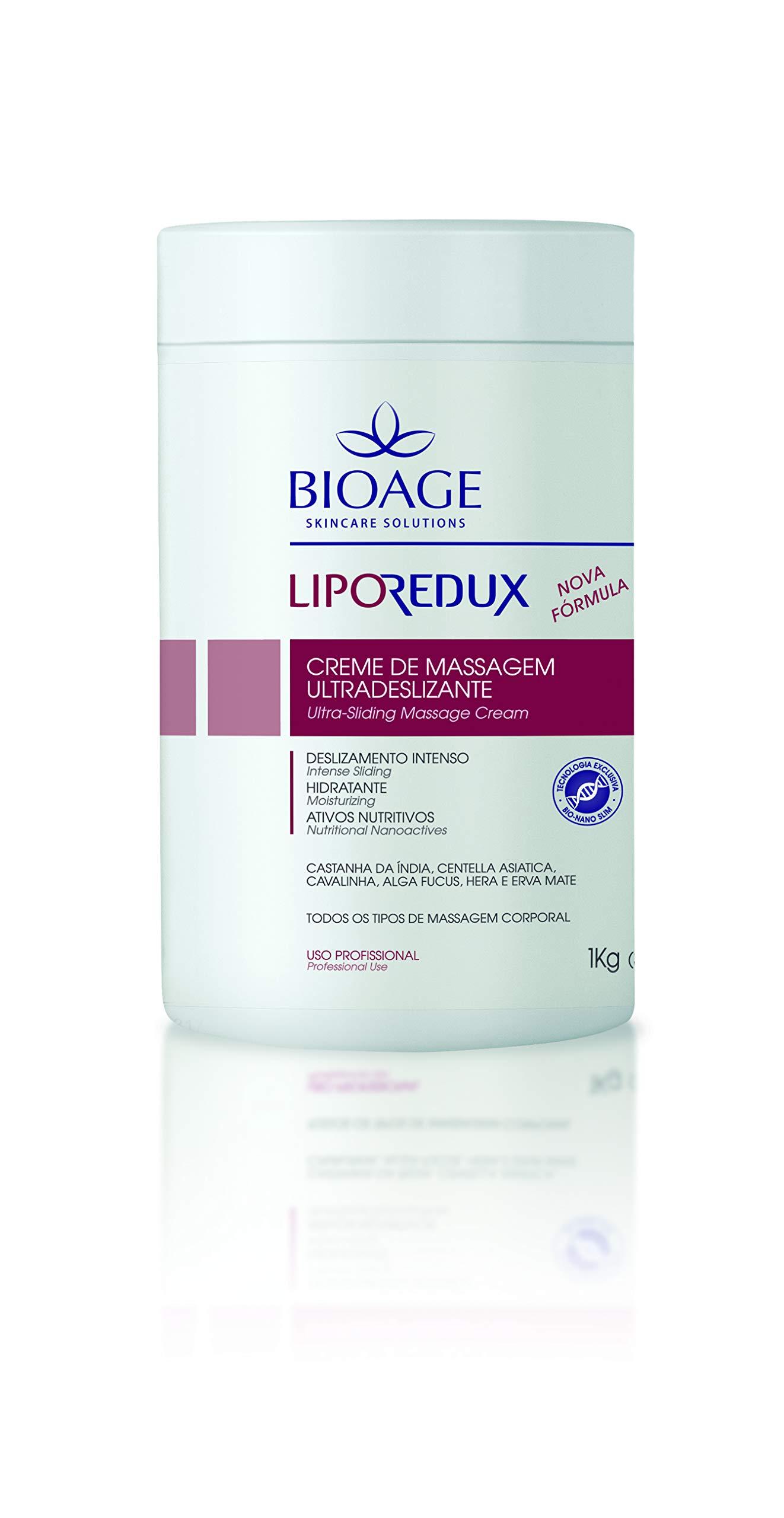 Massage Cream – Soft Texture – Nutritive & Moisturizing - LIPOREDUX ULTRA SLIDING MASSAGE CREAM 35 oz. Free of mineral oil and dyes.