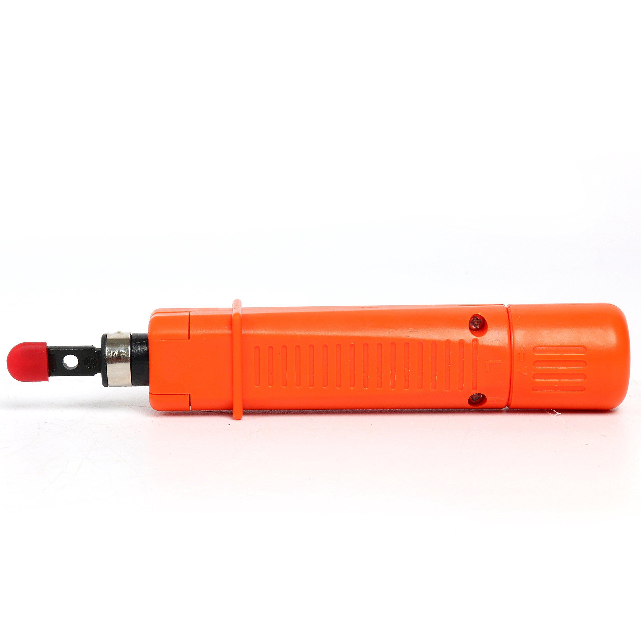 Yaetek Portable Ethernet Network Tool Cable Tester LAN Kit RJ45 Crimper Plug Crimping tool Set Punch Down RJ11 Cat5 Cat6 Wire Line Detector by YaeTek (Image #6)