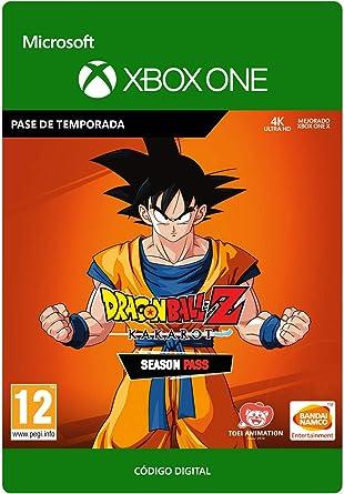 DRAGON BALL Z: KAKAROT Season Pass   Xbox One - Código de descarga ...