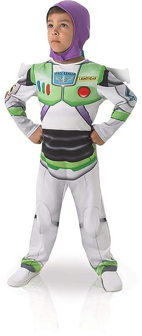 Rubies Buzz Lightyear - Childrens Disfraz - Pequeño - 104cm  Amazon ... d38a63373f1