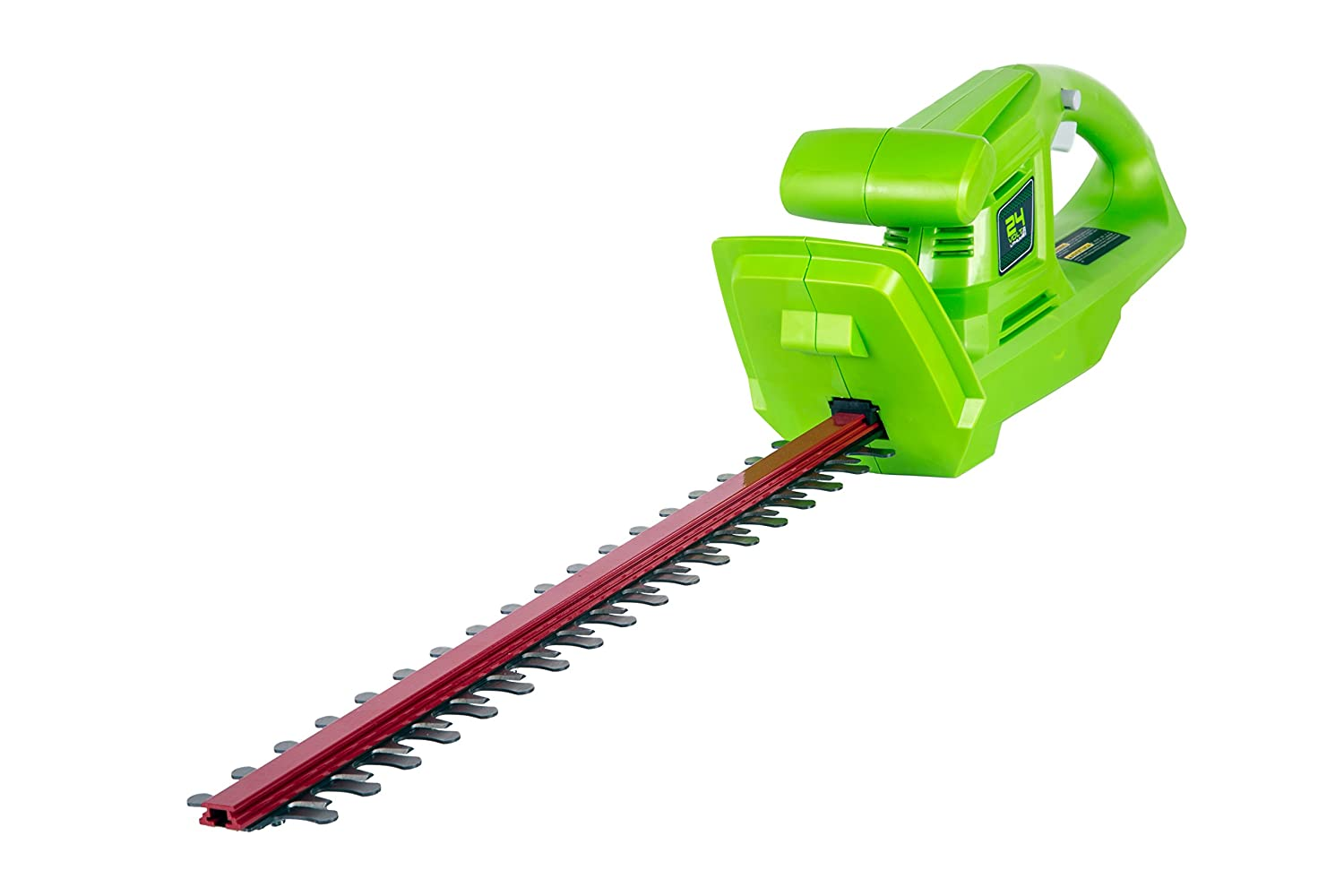Greenworks 20-Inch 24V Cordless Hedge Trimmer, Battery Not Included HT24B01