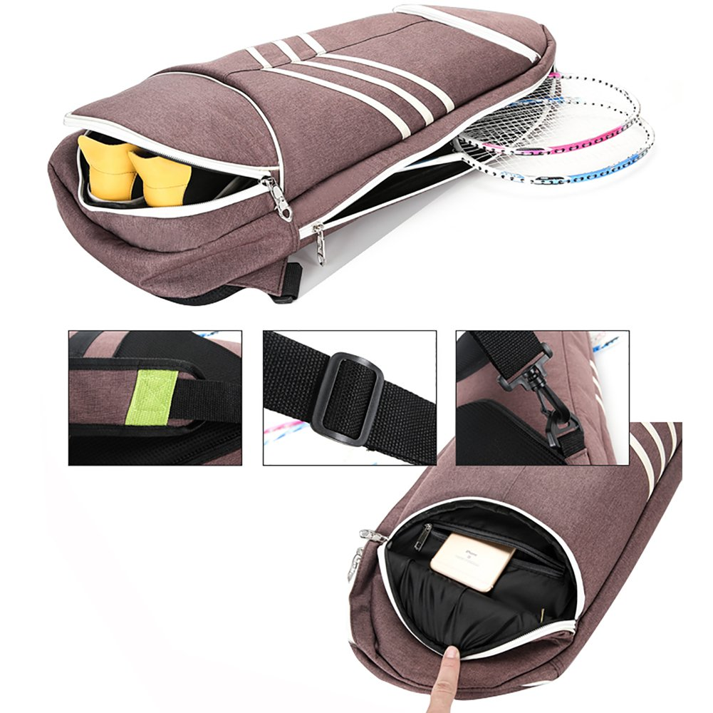 SportTent Waterproof Badminton Racket Cover Tennis Bags Racquet Bag Sling Bag Backpack Sports