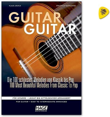 Guitar Guitar – Las 100 mejores melodías de clásico hasta Pop ...