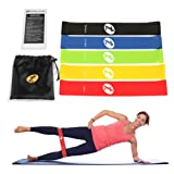 Amazon Price History for:Toplus Set of 5 Loops Exercise Resistance Bands for Home Workout, Pilates, Yoga, Rehab, Physical Therapy with Carry Bag and Instructional Booklet