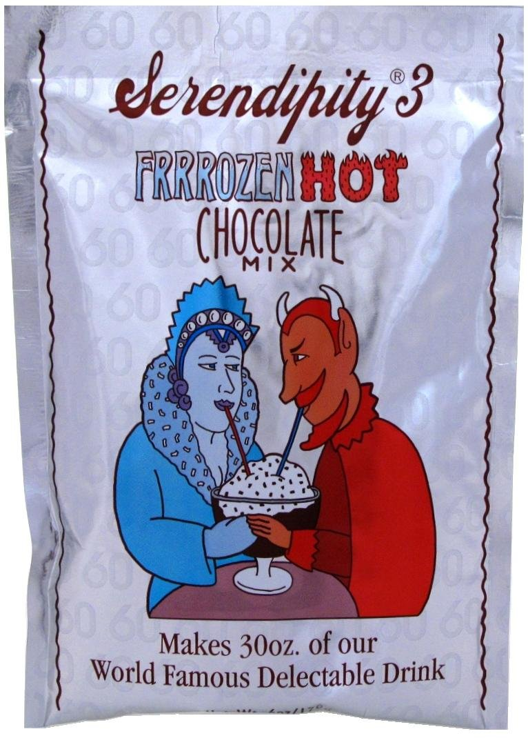 Amazon.com : Serendipity 3 Frrrozen Hot Chocolate Mix (6 Large ...
