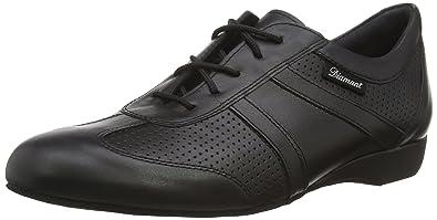 Diamant 088-076-042 - Zapatillas de Danza de Cuero para Hombre Negro, Color Negro, Talla 46 2/3 EU