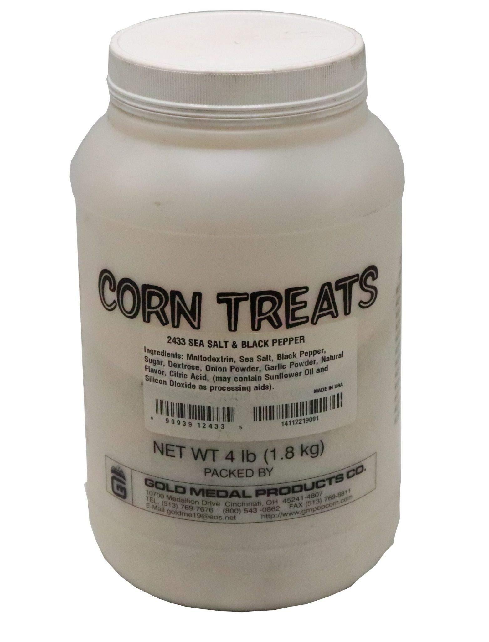 Beach City Wholesalers Savory Shakers Sea Salt & Pepper Popcorn Seasoning 4 lb jar (1 count)