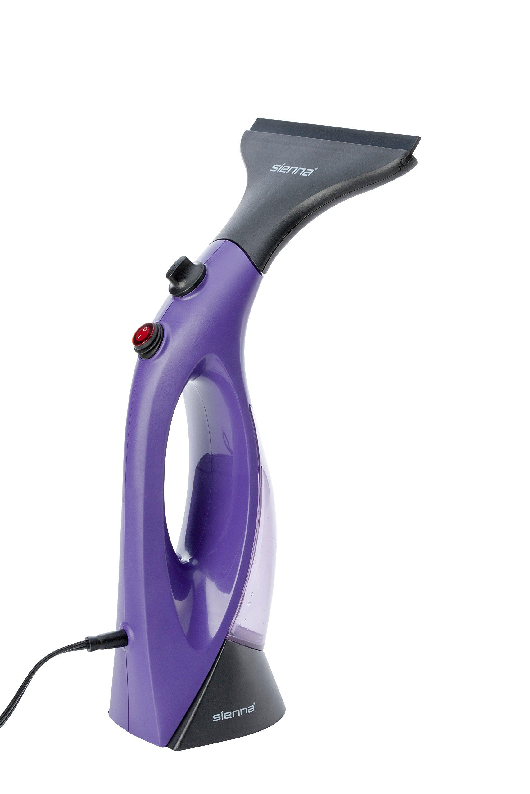 Sienna Visio SSC-1001 Multi-Use Steam Cleaner, Handheld Steam Cleaner, Portable Steam Cleaner, Window Steam Cleaner Window Cleaner, Squeegee, Microwave Cleaner, Stove Cleaner, Refrigerator Cleaner