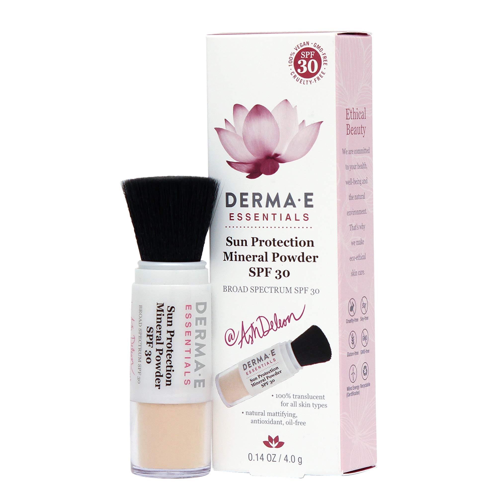 DERMA-E DERMA E Sun Protection Mineral Powder SPF 30, Basic Chamomile, 0.18 Ounce