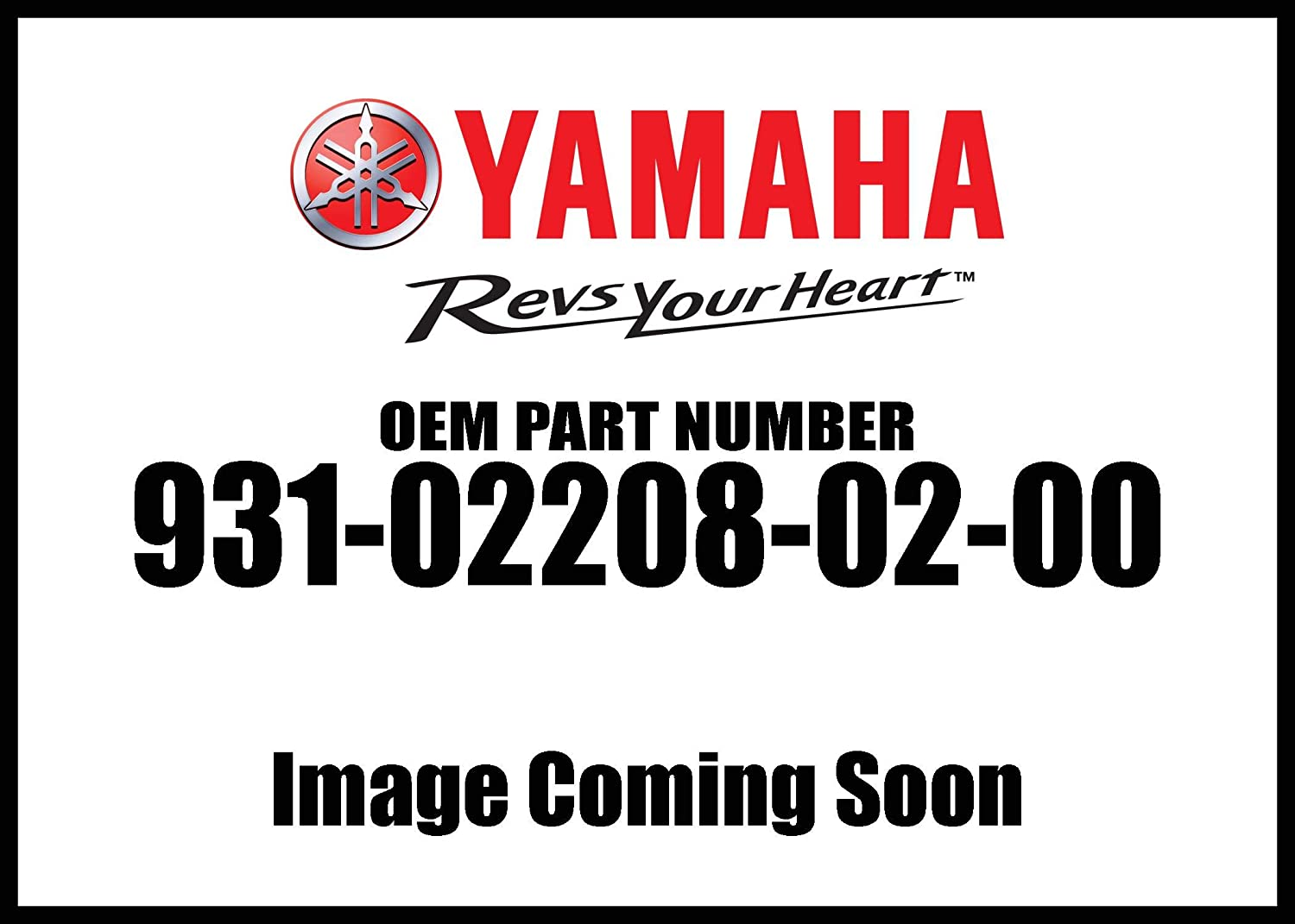 Yamaha 93102-20802-00 Oil Seal; 931022080200 Made by Yamaha