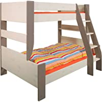 Steens für Kinder Etagenbett, inkl. Lattenrost, teilbar, MDF, 90x200 cm