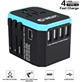 Unidapt Universal Charger Power Adapter, International Travel Adapter - All in one World Adaptor with 5.6A Smart Power…
