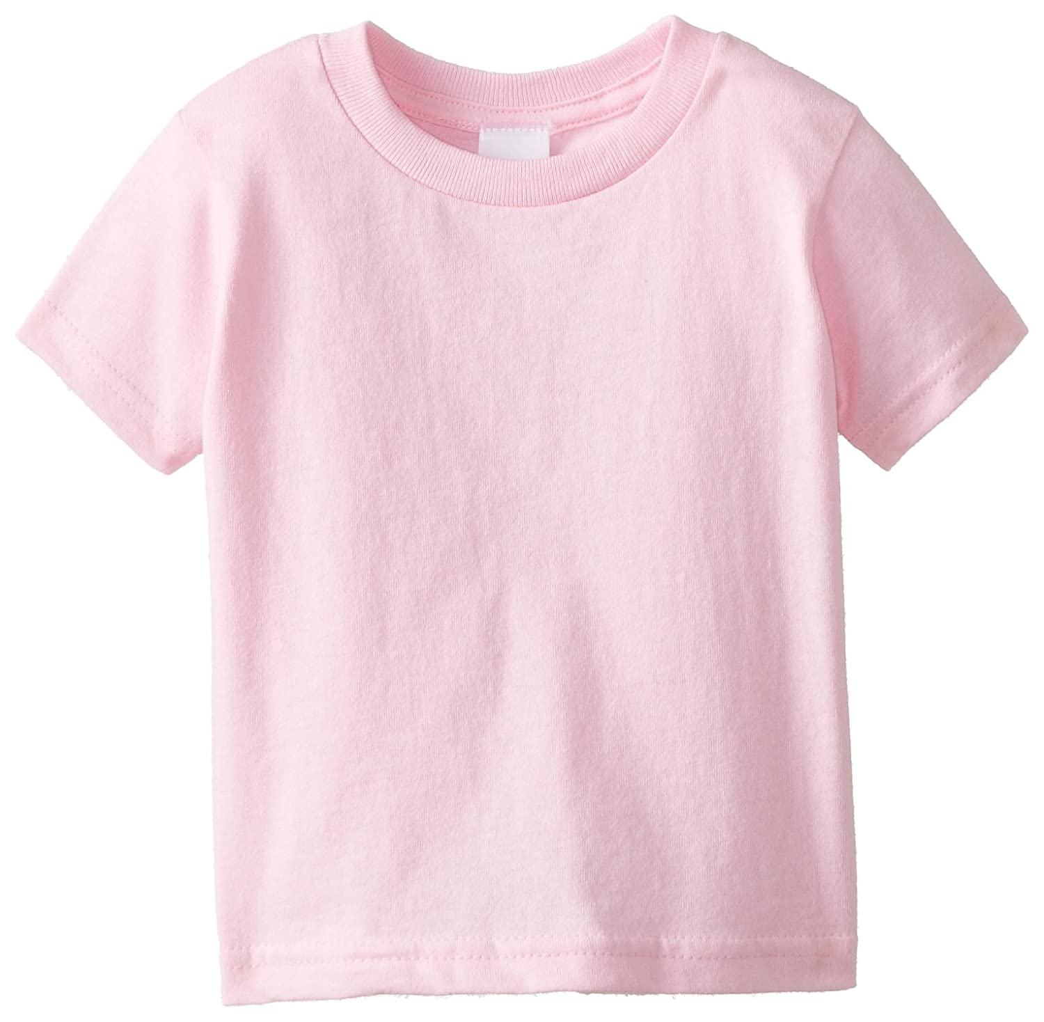Clementine Apparel Little Girls Short-Sleeve Basic T-Shirt