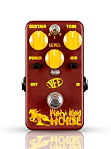 VFE PEDALS Fiery Red Horse