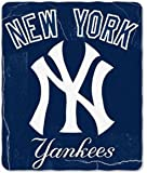 New York Yankees Lightweight Rolled Throw Blanket