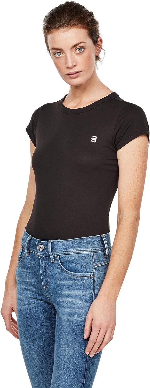 G-STAR RAW Eyben Slim R T Wmn S//S Camiseta para Mujer