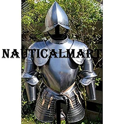 Amazon.com: Nauticalart, brazalete Renacentista, medio traje ...