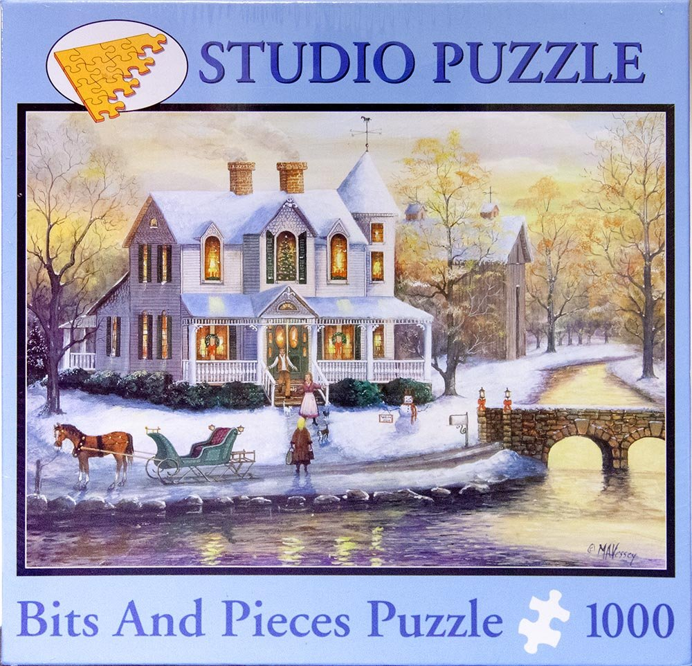 Promoción por tiempo limitado Mary Ann Vessey Ill Be Home For Christmas by Studio Puzzle