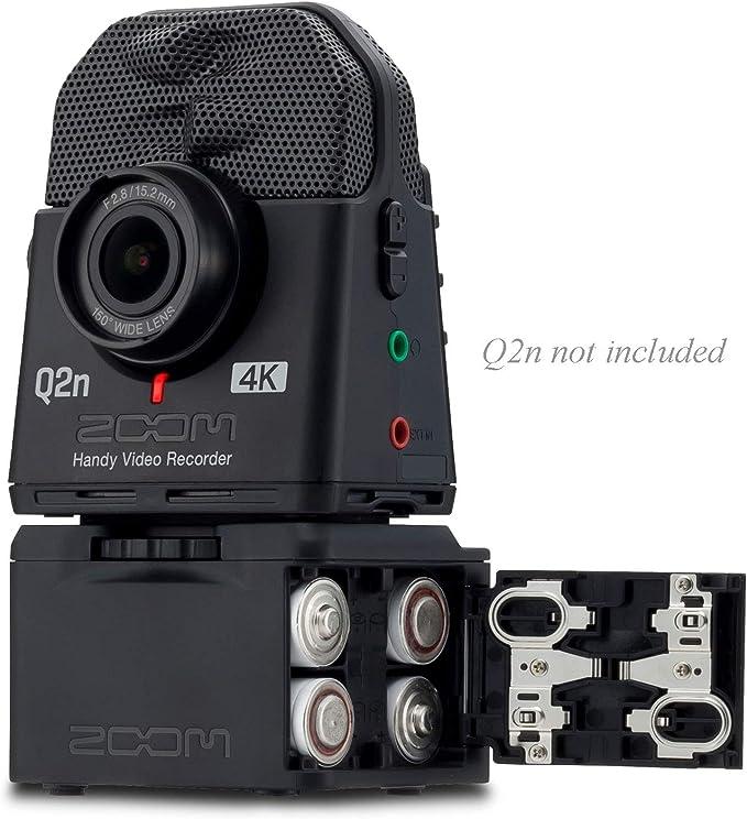 Zoom Bcq2n Battery Case For Q2n Q2n 4k Musical Instruments