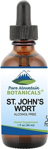 St Johns Wort Tincture Kosher Liquid St. John s Wort Alcohol-Free Extract – 500mg – 1oz Bottle