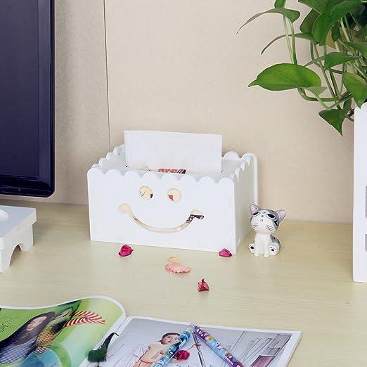Pañuelos Caja Servilletero Funda de Toallitas faciales dispensadora de pañuelos cubiertas para cocina/baño/mesa de comedor Decor: Amazon.es: Hogar