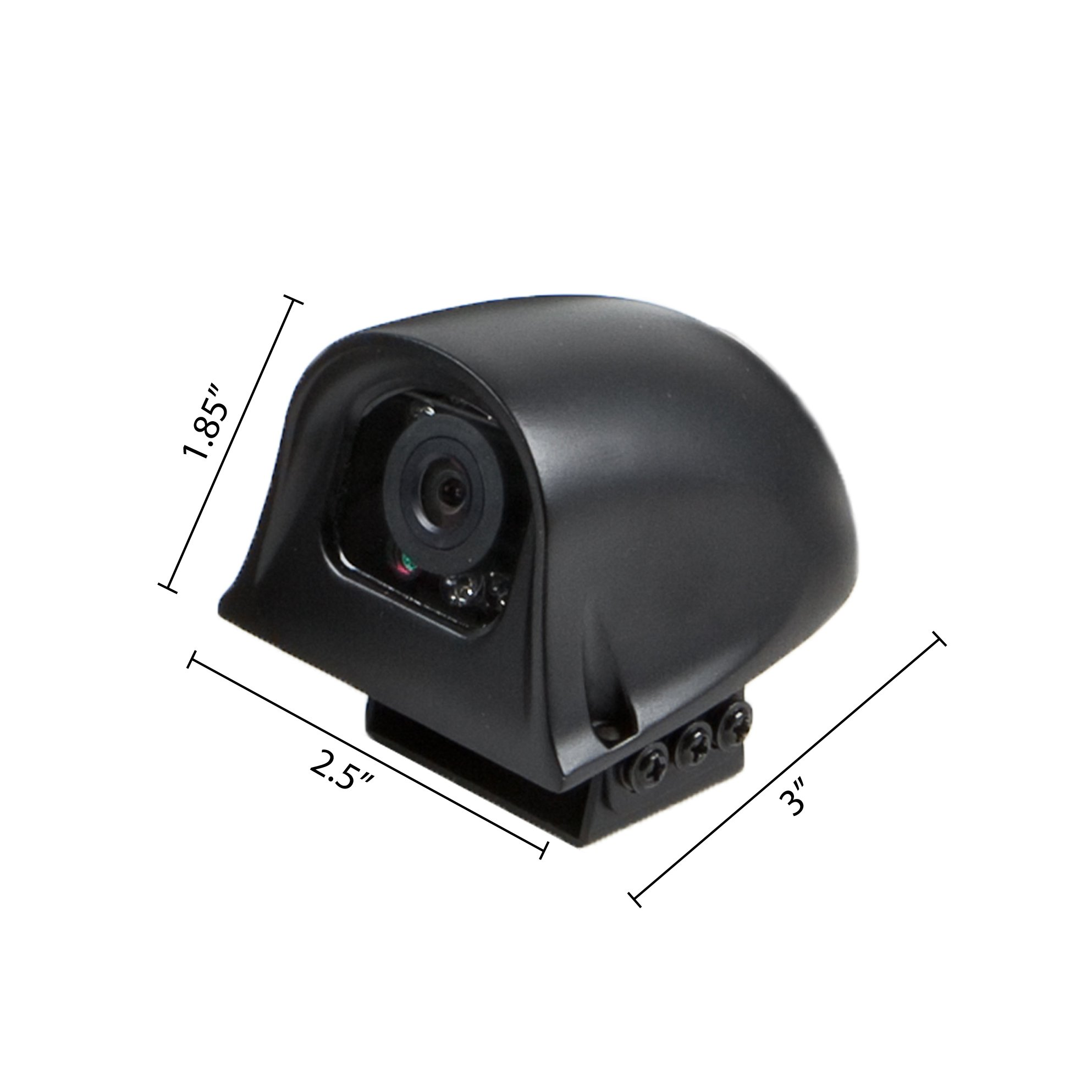 Rear View Safety 120° Right Side Camera with RCA Connection RVS-775R by Rear View Safety (Image #2)