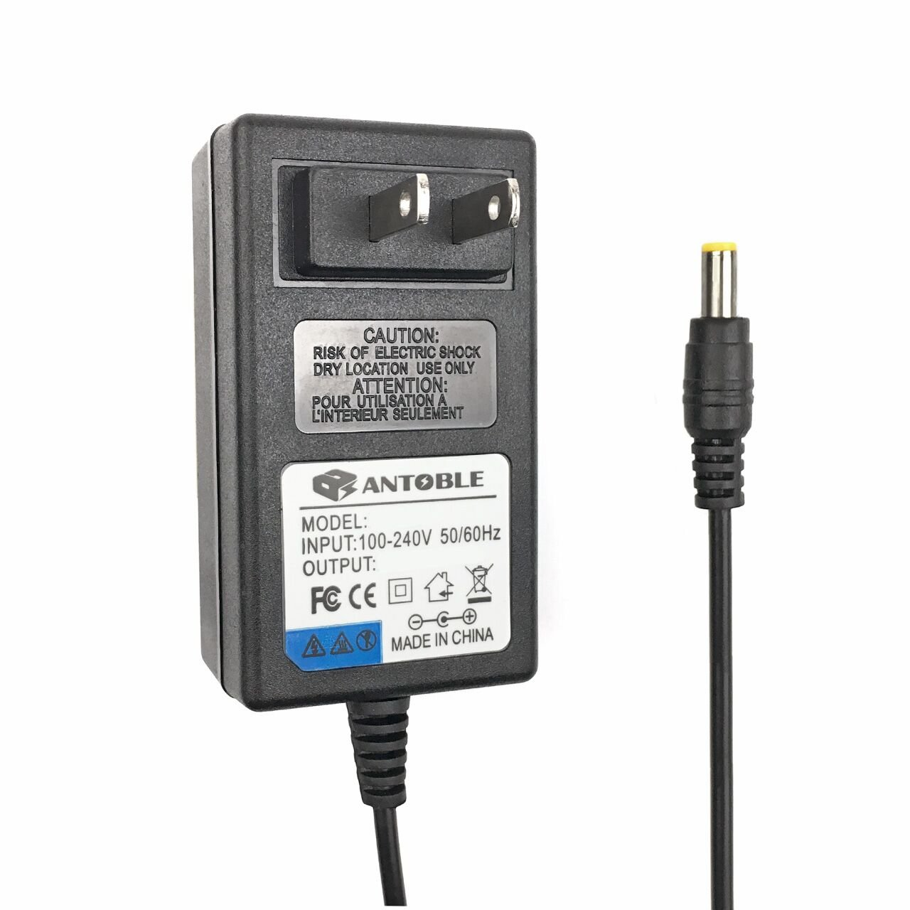 ((6.5 FEET CABLE)) AC Adapter for Booster PAC ESA22 ES2500KE/ES2500/ESA217 ES5000 ESP5500 J900 - SOLESA-22 For ES2500KE/ES2500 J850 J1000 J2000 Booster Pac Car (via Small Pin) Jump Starter by Eagleggo