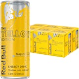 Red Bull Yellow Edition, Tropical Energy Drink, 8.4 Fl Oz Cans (Total 24 Cans)