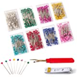 Sewing Pins – 800 PCS Peal Needles, Straight Quilting Pins for Dressmaking, Jewelry, Sewing Projects, with Sewing Seam Ripper