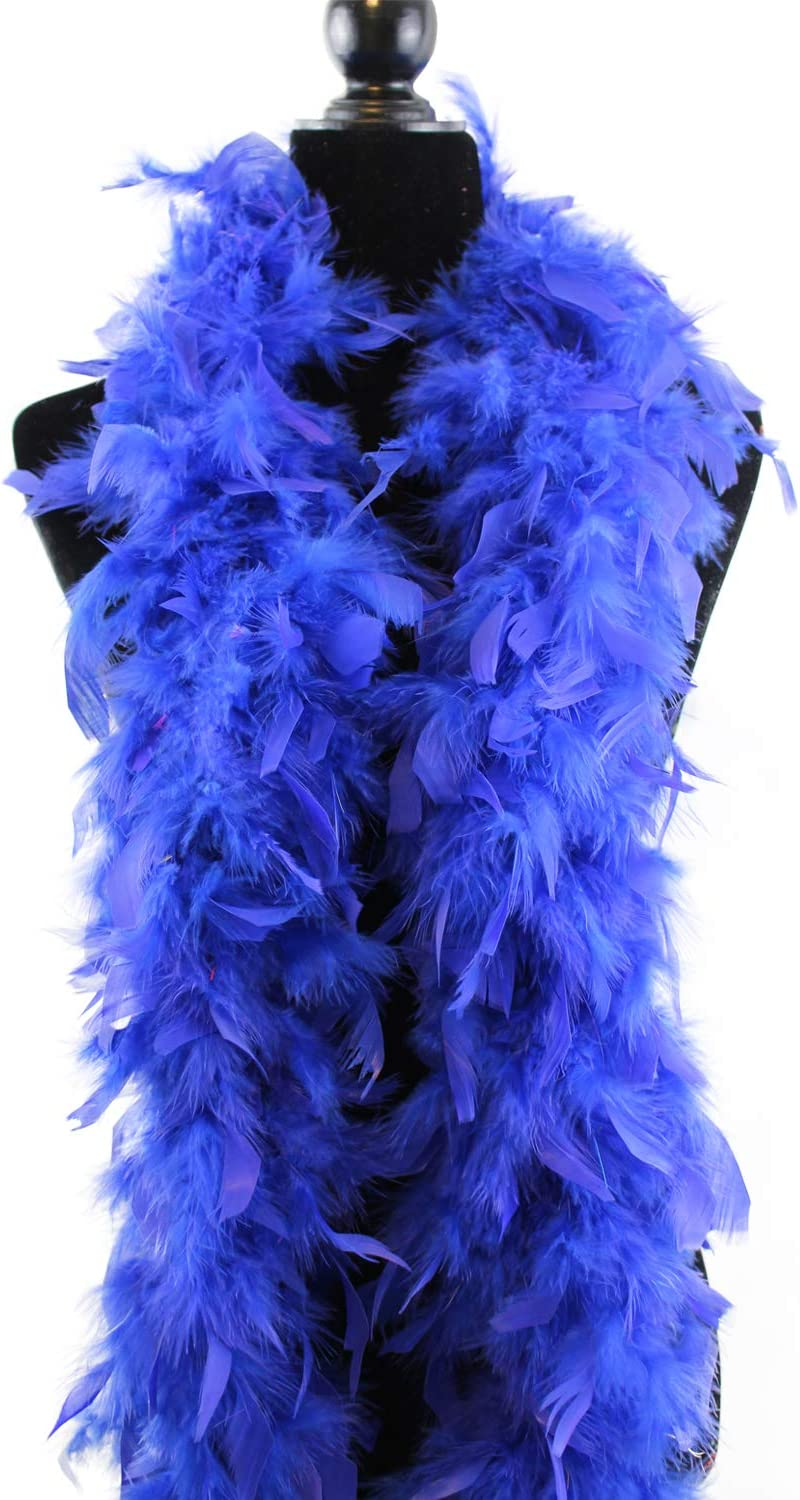 60 Gram 2 Yard 100/% Natural Feather Boa Chandelle Feather Costume Wedding Party Decor DIY Crafts Creation Decorations