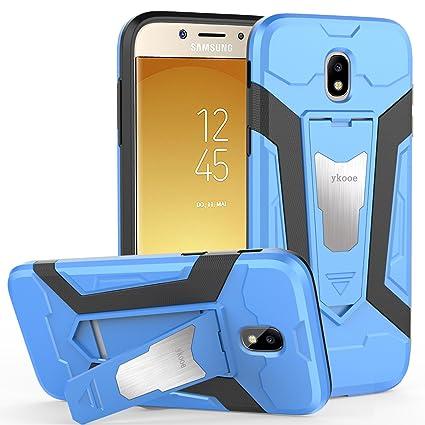 61e11c7b202c46 ykooe Galaxy J7 Pro Case, (Silicone Series) Heavy Duty Protection Hybrid  Shockproof Dual
