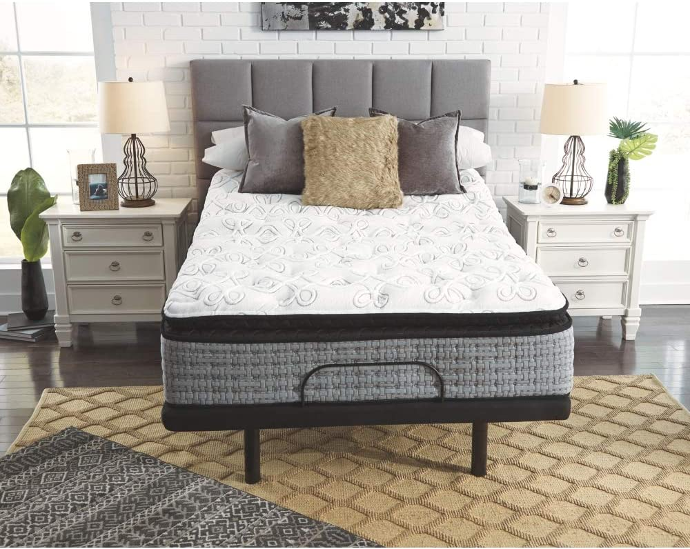 Signature Design by Ashley Mt Rogers Ltd Pillowtop King Mattress, White