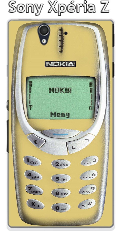 Onozo Carcasa Nokia 3310 Custard para Sony Xperia Z: Amazon ...