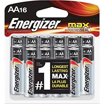 Amazon.com: Energizer AA Batteries, Double A Battery Max