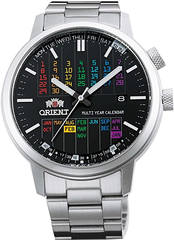[オリエント時計] 腕時計 スタイリッシュアンドスマート WV0881ER シルバー