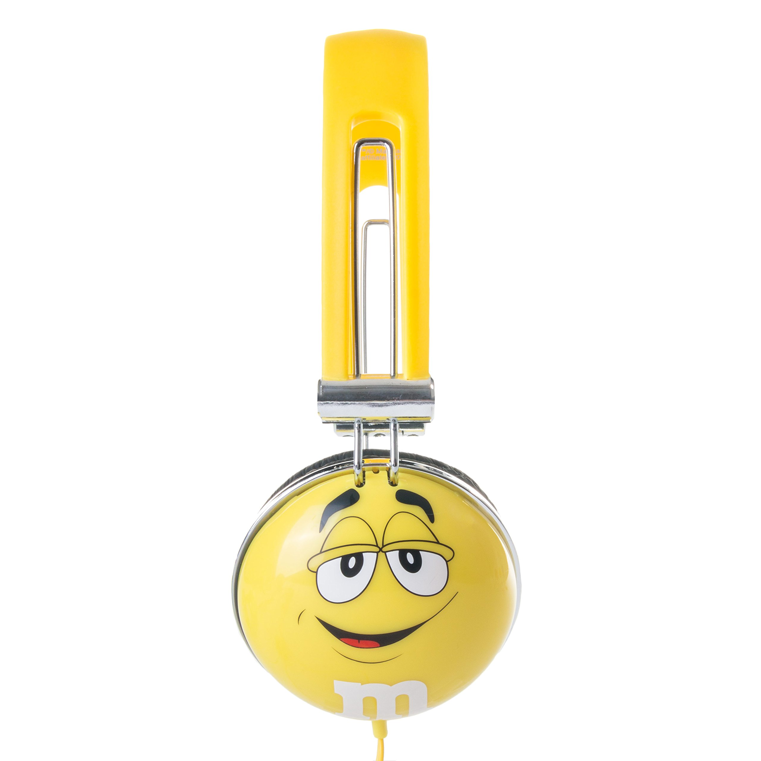 iHip M&M'S Brand Comfort Fit Headphones for iPhone, iPad, iPod, Samsung or Any Smartphone, MP3 Player or Tablet