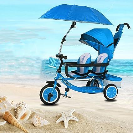 Baby stroller- Asiento delantero y trasero doble para niños ...