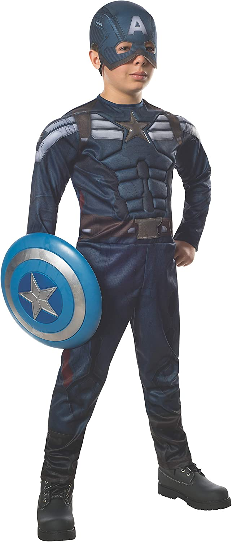 Disfraz de Capitán América Soldado de Invierno traje sigiloso para ...