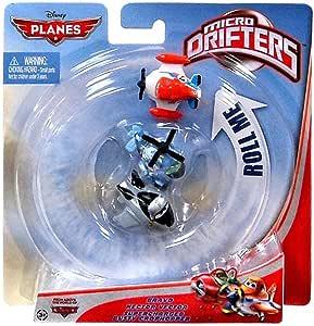 Planes Aviones de Disney Micro Drifters - 3 Pack - Dusty, Bravo y Héctor: Amazon.es: Juguetes y juegos