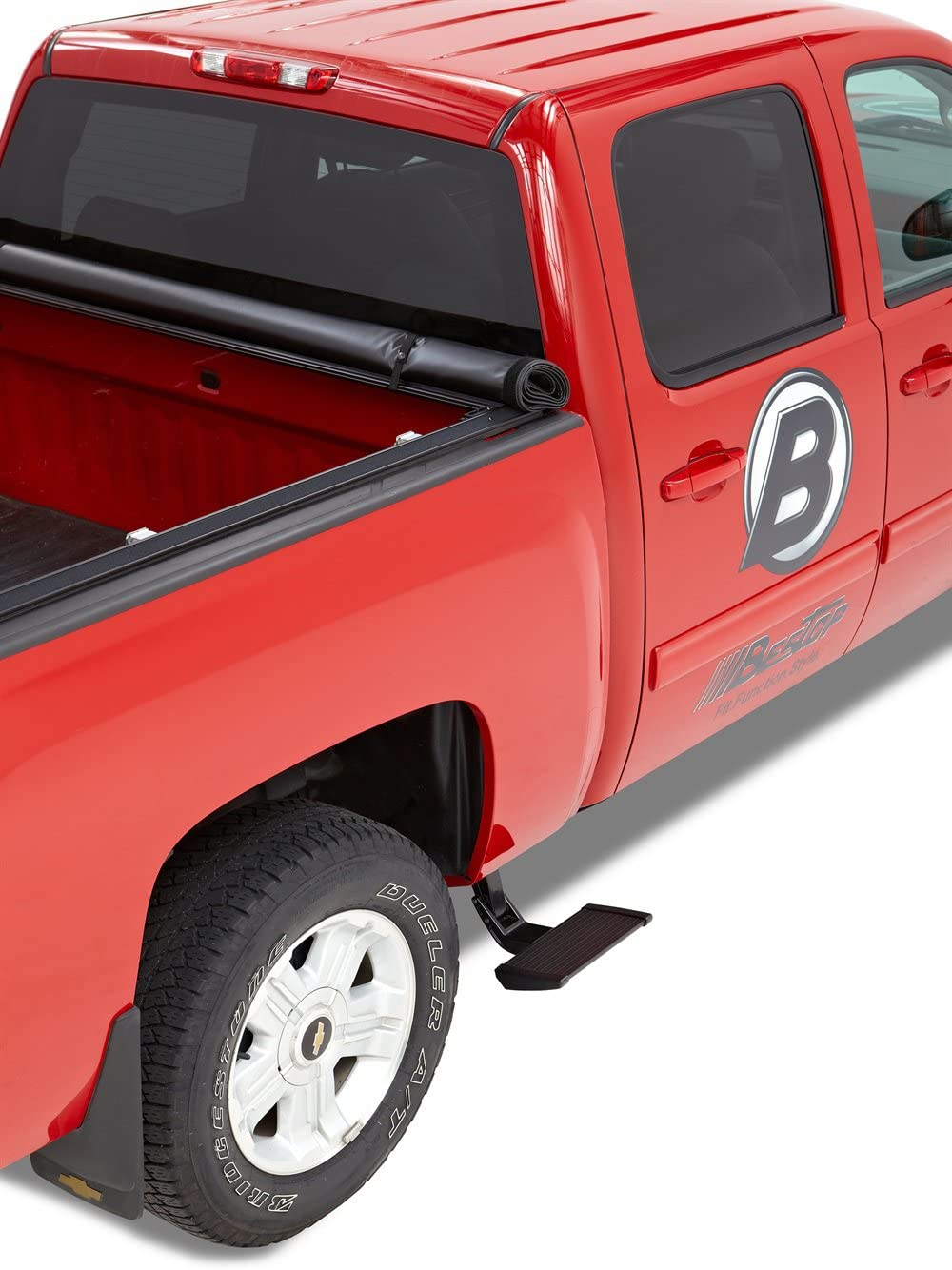 Bestop 75414-15 Side-Mounted Trekstep for 2014-2018 Ram 2500; fits passenger side only 6.3 and 8.0 beds