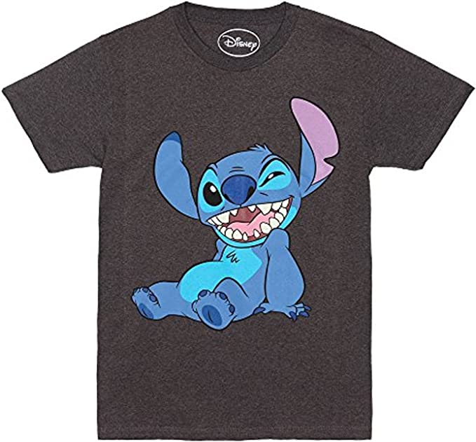 Amazon.com: Disney Lilo and Stitch Winky Wink - Camiseta ...